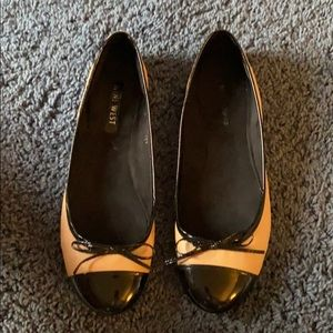 Nine West Two Tone Flats